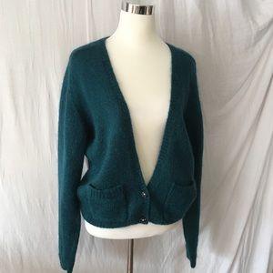 Vintage Worthington Wool Blend Oversized Cardigan